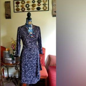 New York & company pretty wrap dress
